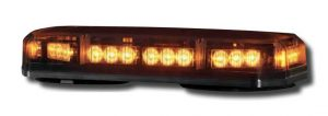 Code 3 Amber Mini Shield Lightbar