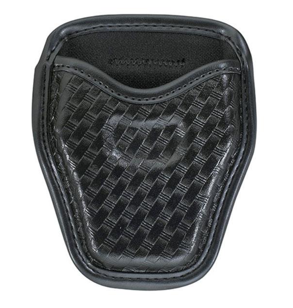 open-top-hinge-basket-weave-cuff-case